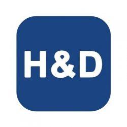 Bild på Emission: H&D Wireless logga.