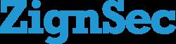 Bild på Notering: ZignSec logga.